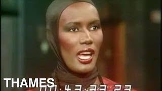Grace Jones - interview - Thames at Six - 1977
