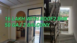 3rd floor with Roof  16 lakhs | 50 Gaj flat two Balcony | Bike parking | deep vihar rohini flat |