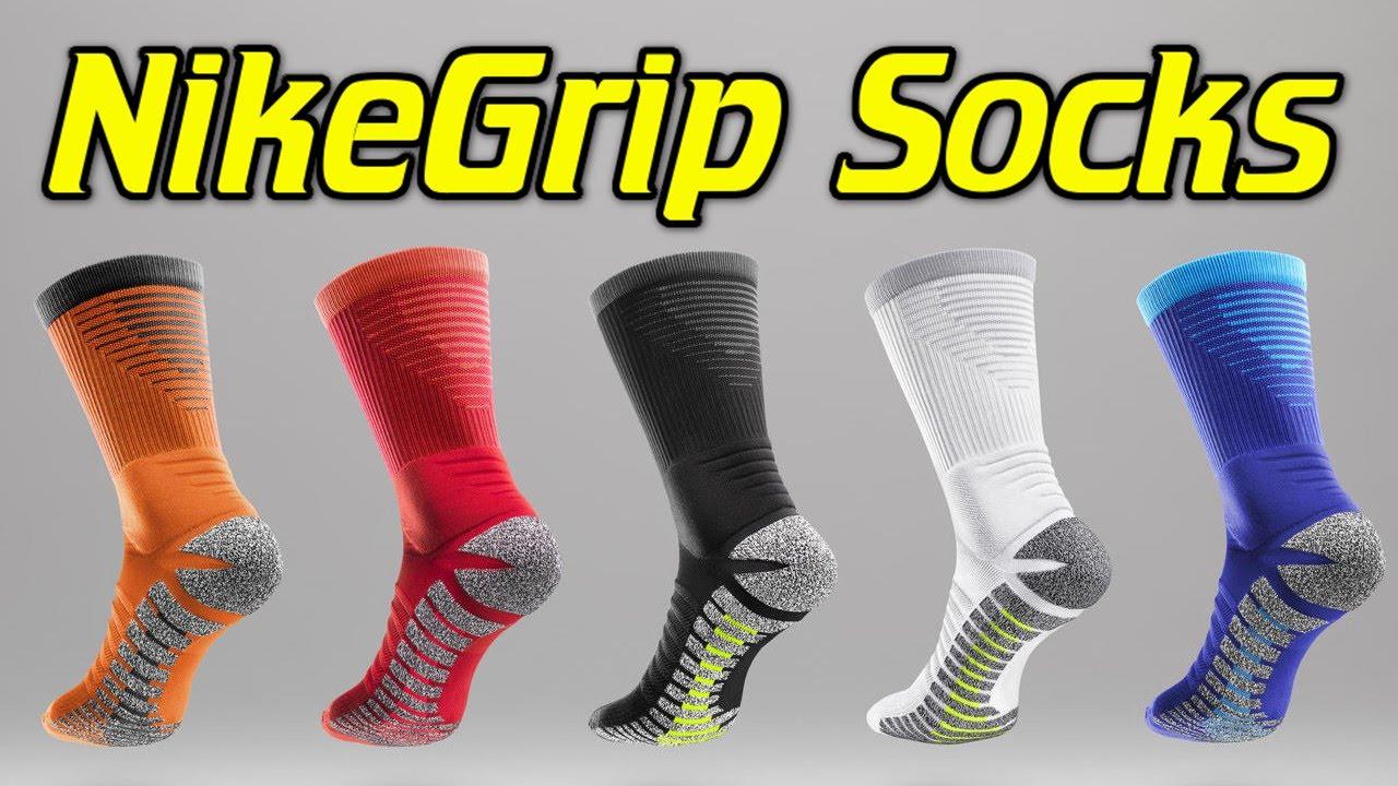 453babdc8 Nike NikeGrip Strike Socks Review - YouTube
