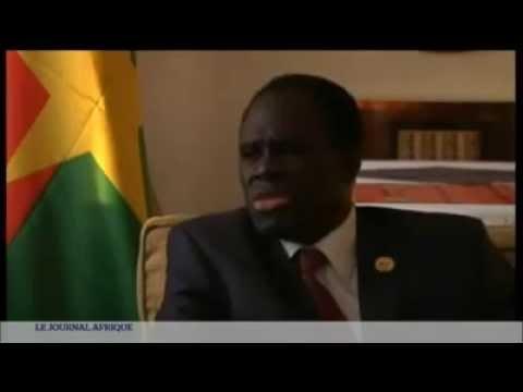 Journal Afrique TV5 Monde - Sommet Francophonie - Michel Kafando, président du Burkina Faso