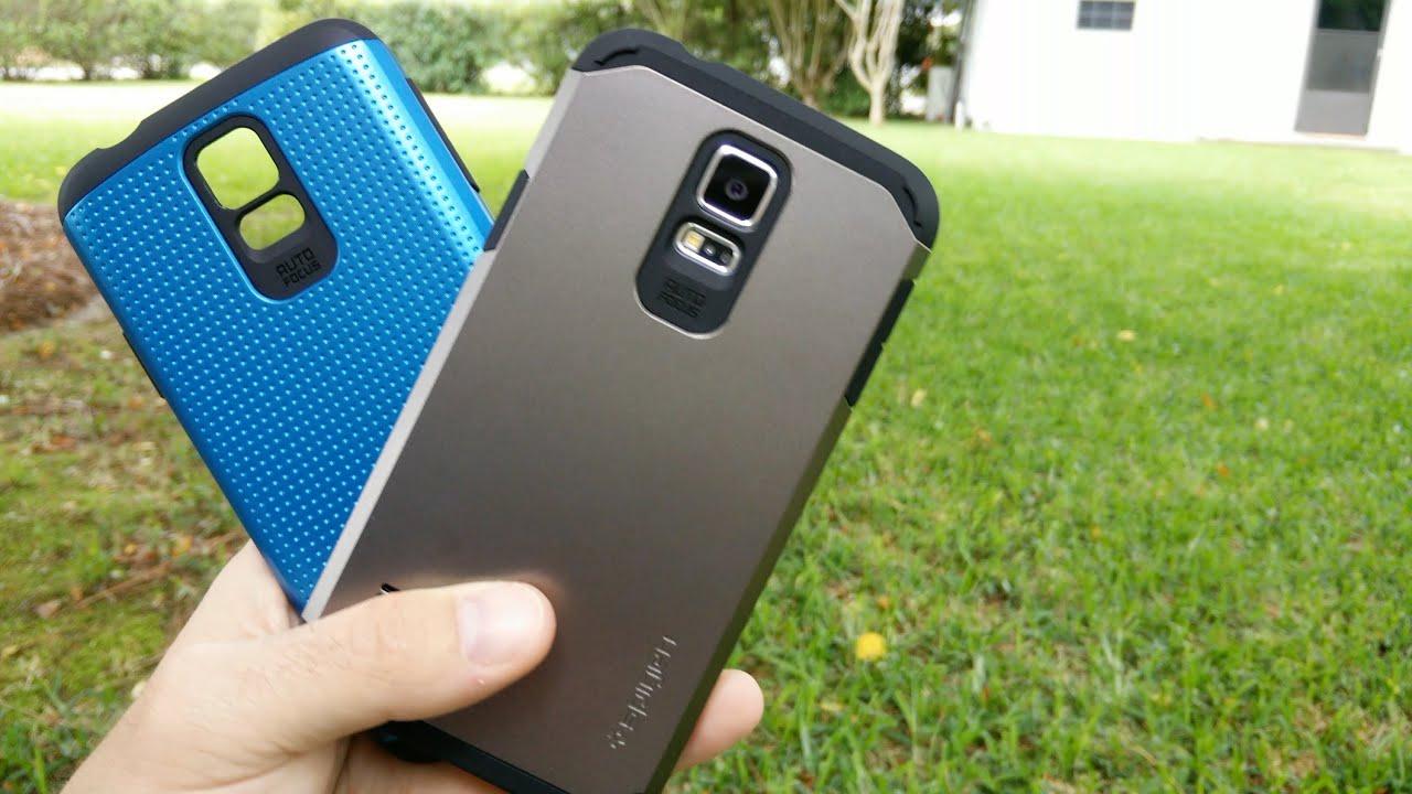 Spigen Galaxy S5 Tough Armor Review, Comparison, And Test