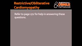 Restrictive/Obliterative Cardiomyopathy