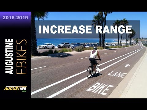 Electric Bike tips. Increase your e-bikes range by 15% or more!
