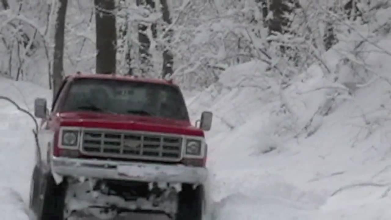Snow Storm Four Wheeling Youtube