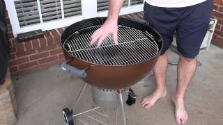 Weber One-touch Gold 22.5 Inch Review