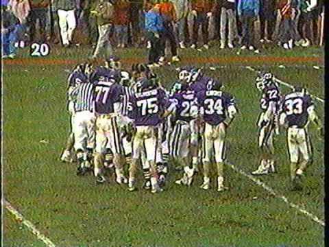 1989 Marshwood vs Skowhegan Maine Class A Champ Game   Part 5