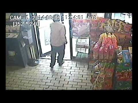Ferguson police release convenience store surveillance video