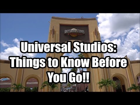 Universal Studios Orlando Tips - Things to Know Before You Go!!