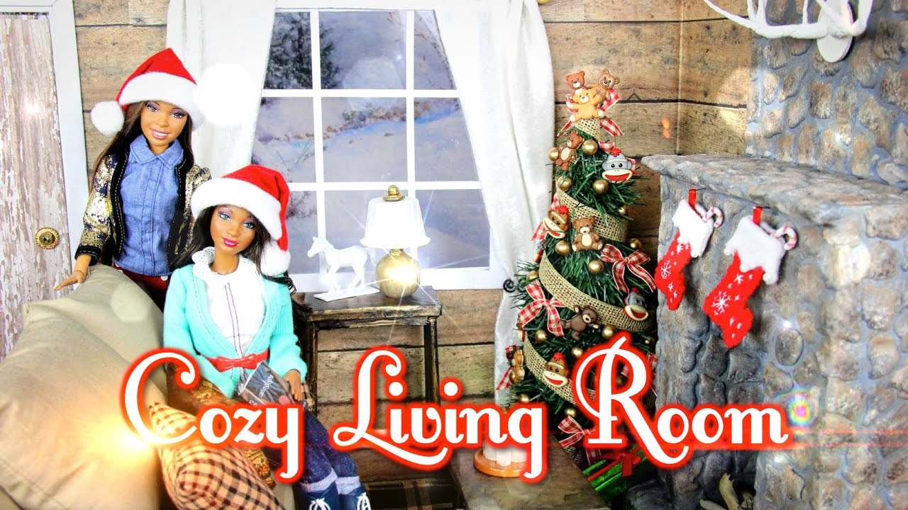 my froggy stuff living room diy how to make cozy doll living room amp realistic 18868