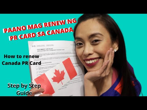 How To Renew Canadian Permanent Resident Card (Step By Step Guide)