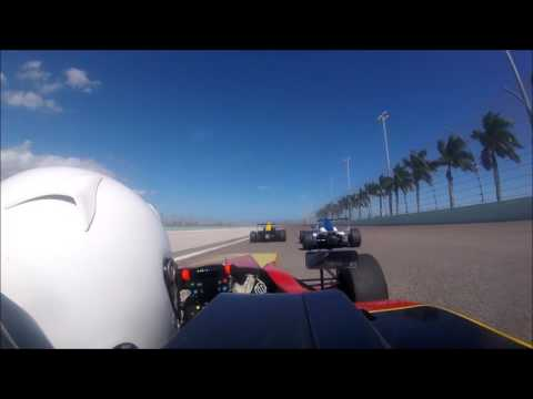 Raphael Forcier - Group-A Racing - 2016 Formula 4 US Championship Round 15 Homestead Miami Speedway