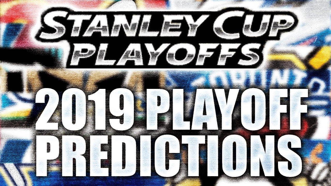 2019 Nhl Stanley Cup Playoffs Predictions Nhl Bracket Challenge Warning Very Basic