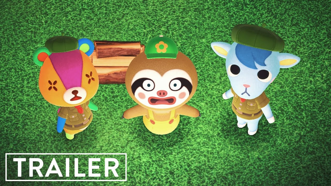 Pocket Camp | Animal Crossing Comedy Movie Trailer