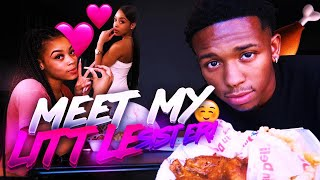 HAVENT SEEN MY LITTLE SISTER IN 5 YEARS😊💕 | AMERICAN DELI MUKBANG