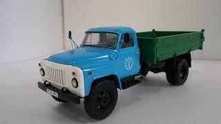 ГАЗ-САЗ-53б Обзор доработанной модели Автолегенды СССР Грузовики 1-43