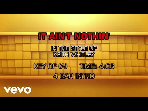 Keith Whitley - It Ain't Nothin' (Karaoke)