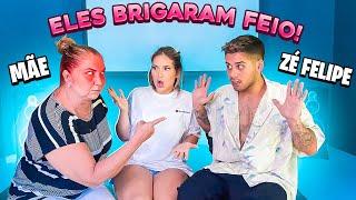 MINHA MAE E O ZE FELIPE BRIGARAM FEIO NESSE VIDEO!!