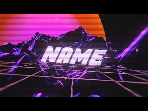 FREE Vaporwave Intro Template #993 Blender + Tutorial - YouTube