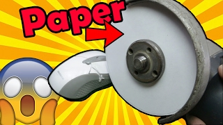 Can Paper CUT a MOUSE??