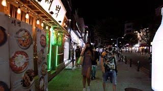 【4K】금요일 저녁 서울 홍대 연남동 모습 | Hong…