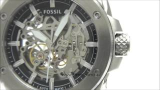 e63d25aa37c Men s Fossil Machine Automatic Steel Watch ME3083 - Смешные видео ...
