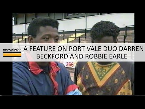 A feature on Robbie Earle and Darren Beckford, 1990