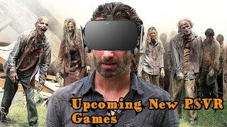 New Upcoming PSVR Games in 2018 👍🎮