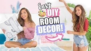 DIY ROOM DECOR IDEAS 2018! Cheap + Affordable Decor!