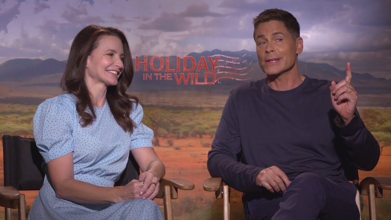The stars from Holiday in the Wild on working with elephants!
