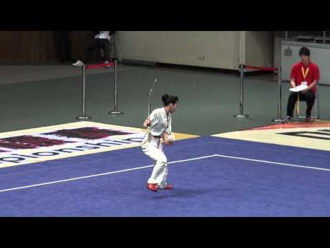 2012 World Junior Wushu Champ   JSF A   YAMAMOTO CHIHIRO   JPN   9 33   2