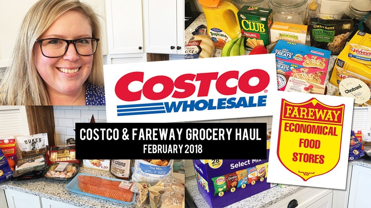 94aff54d7ac February 2018 -  237 Costco and Fareway Haul! - YouTube