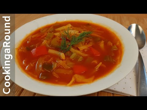 Original Cabbage Diet Soup - Lose 1 to 2 Lbs. Per Day - Guaranteed
