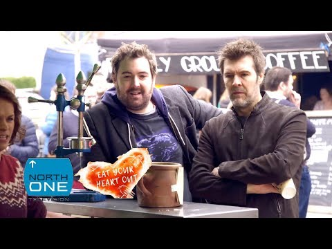 Nick Helm & Rhod Gilbert have a vegan date | Eat Your Heart Out With Nick Helm