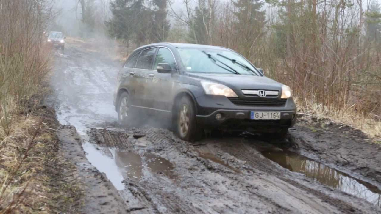 Crv Off Road >> Honda CRV 2012 Hard Off-Road - YouTube