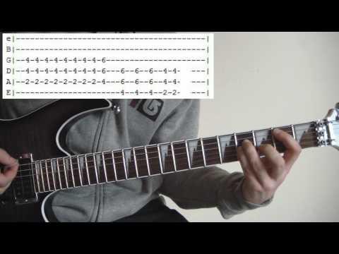 Hammerhead  Offspring  Full Guitar Lesson & Tabs