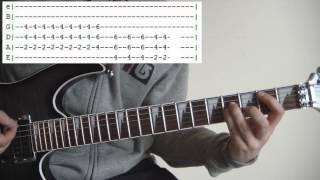 The entire guitar lesson for Hammerhead by The Offspring. Video les...