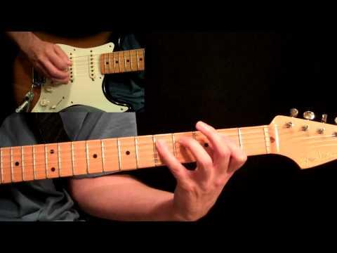 Led Zeppelin - Rock N Roll Guitar Lesson Pt.1 - All Rhythm Guitar Parts