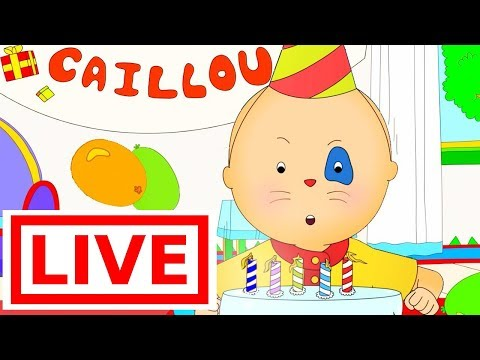 CAILLOU FULL EPISODES LIVE  Fun for Kids  Cartoons for Kids  Cartoon for Children  Cartoon movie