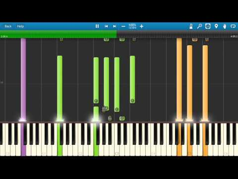 Cher - Walking In Memphis Piano Tutorial - How to play - Synthesia