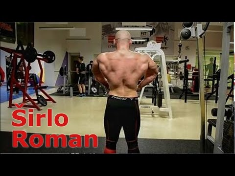 Roman Širlo - back workout
