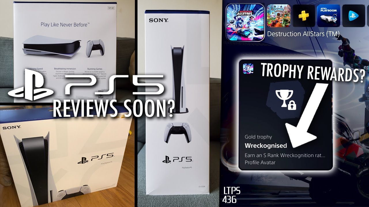 PS5 Review Consoles Sent Out! PS5 UI Features Sony Didn't Reveal. - [LTPS #436]