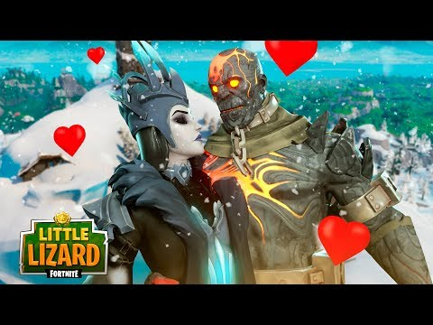 PRISONER & ICE QUEEN FALL IN LOVE - Fortnite Short Films