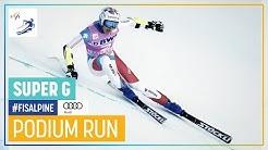 Marco Odermatt | Men's Super-G | Beaver Creek | 1st place | FIS Alpine