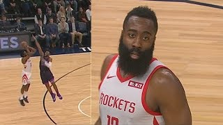 James Harden Gets Humiliated By Rookie Josh Okogie Who Shuts Down His Step Back With Meanest Block!