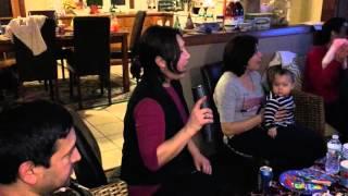 Saidabror' birthday party Karaoke