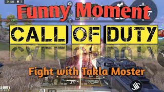 Call of Duty Mobile Funny Moments 😂. Fighting with takla moster😂
