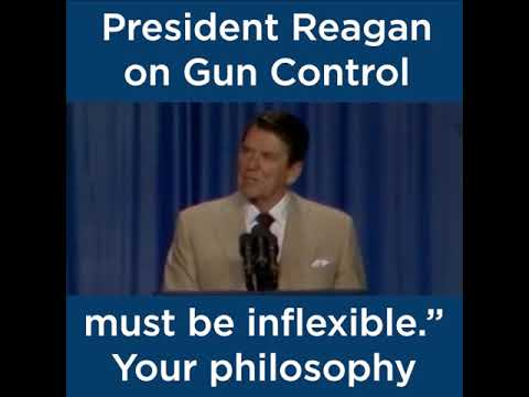 President Ronald Reagan on Gun Control | The Heritage Foundation