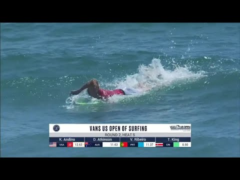 Vans US Open Of Surfing - Men's, Men's Qualifying Series - Round 2 Heat 5