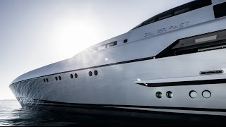 SilverYacht's 77m Silver Fast Luxury Superyacht