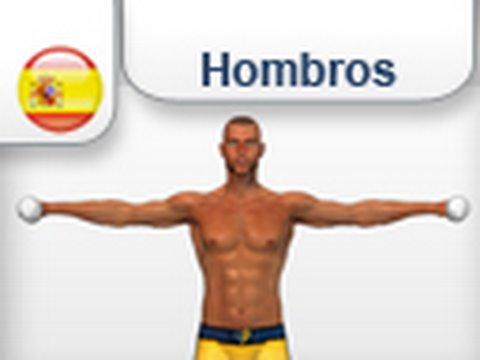 elevaciones laterales con mancuernas ejercicios para hombros